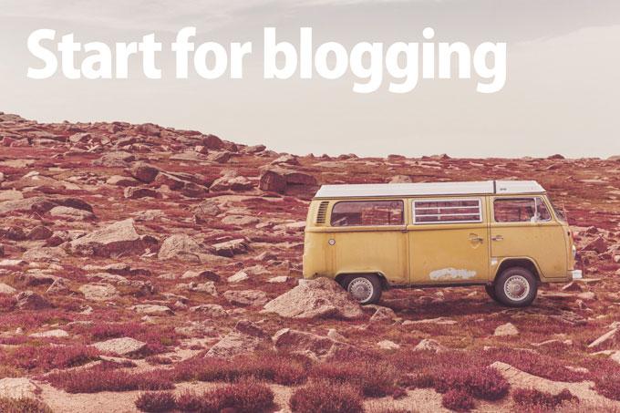 startForBlogging